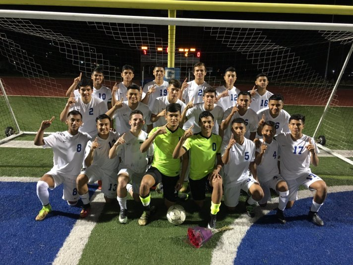 Varsity Soccer District Champions